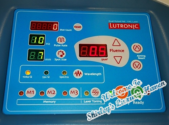 lutronic spectra q switched laser
