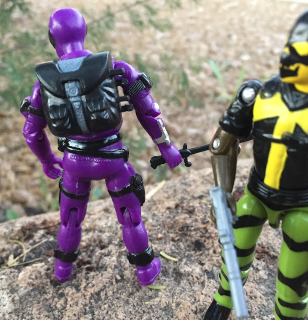 2018 Black Major Purple Haze Cobra Invasor, Snake Eyes V2, 1985, Bootleg, Factory Custom, Red Laser Army, Shadowtracker