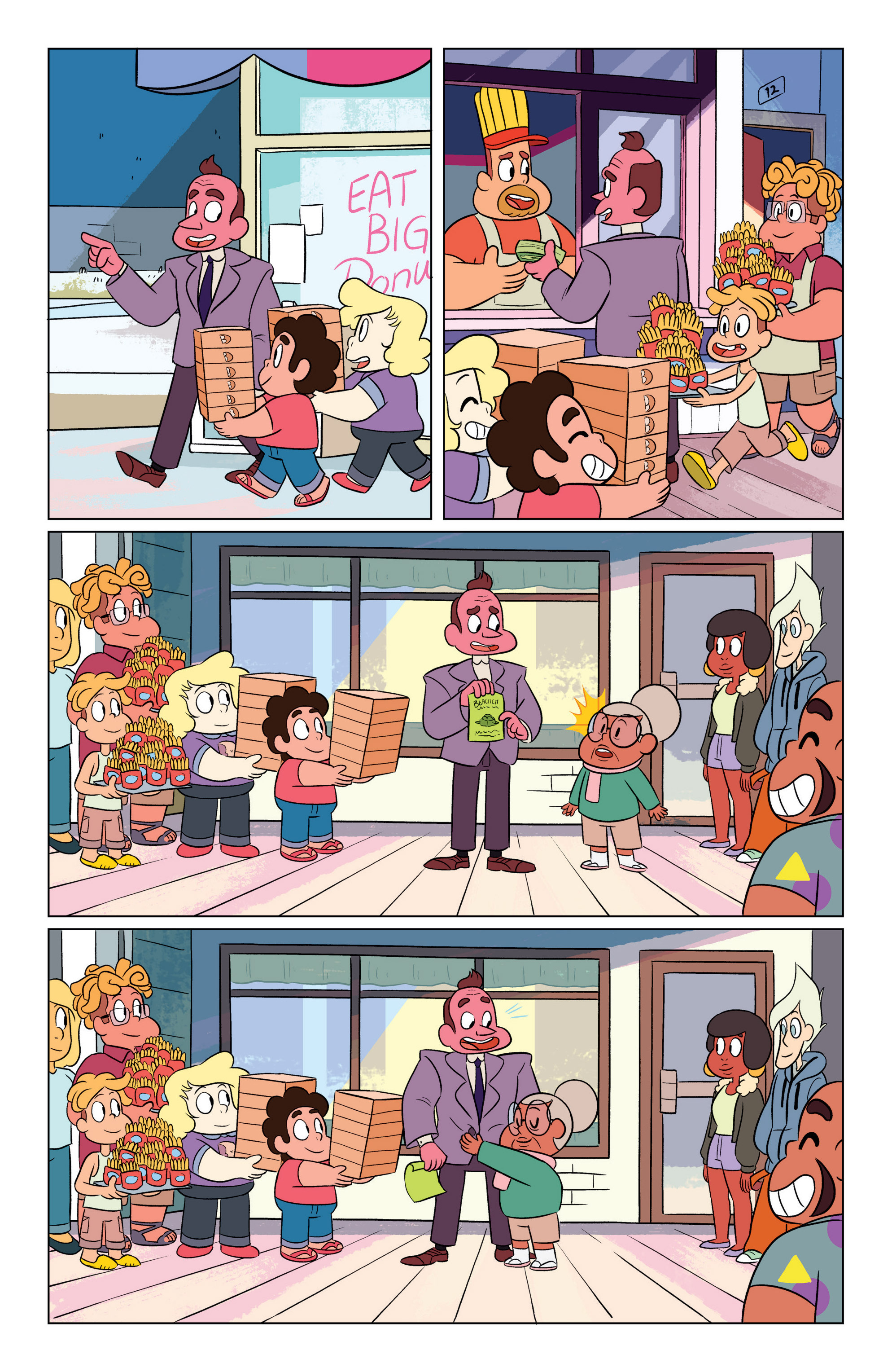 Read online Steven Universe Ongoing comic -  Issue #3 - 20