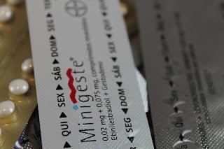 A pílula minigeste® atrasa o período?