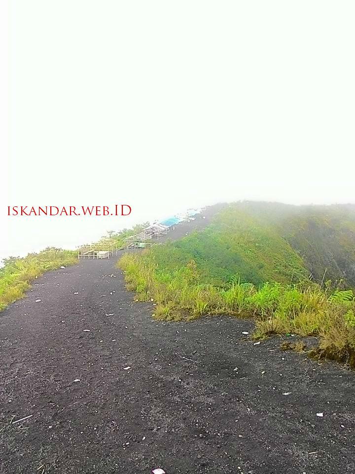 letak gunung galunggung