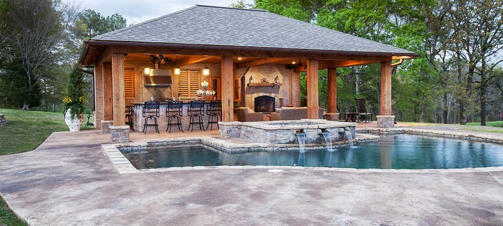 Pool House Cabana Plans: Popular Poolside Trends For 2013