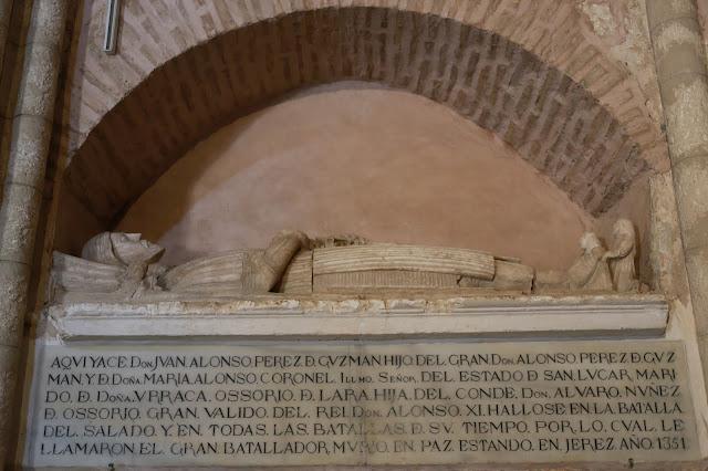 Tumba de Alfonso Pérez de Guzmán