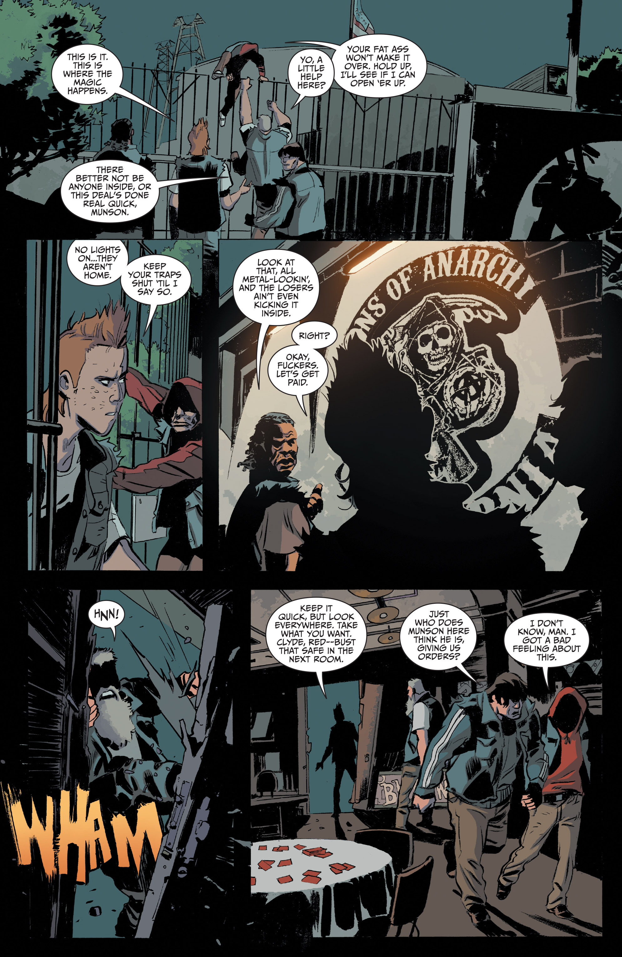 Read online Sons of Anarchy comic -  Issue #20 - 19