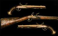 Пистолет гусарский середина XVIII века