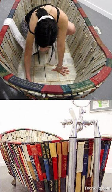 Wah Kreatif, Buku Bekas dijadikan Karya berikut ini