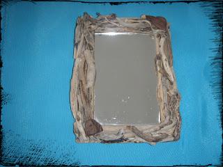Διαγωνισμός : Driftwood mirror ή καθρέφτης από θαλασσόξυλα