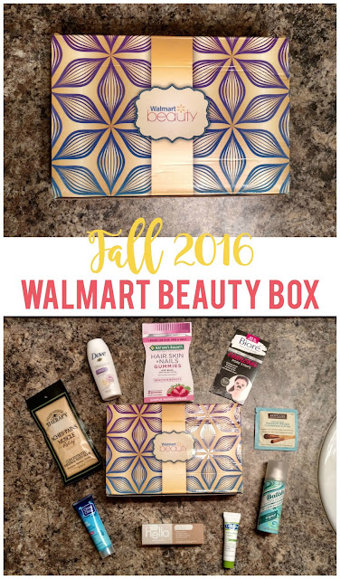 Fall 2016 Walmart Beauty Box Review--Is it worth $5?