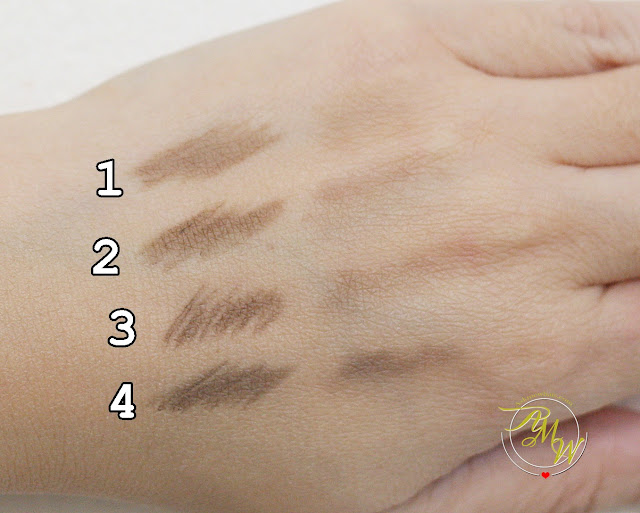 a swatch photo of K-Palette Lasting 3Way Eyebrow Pencil