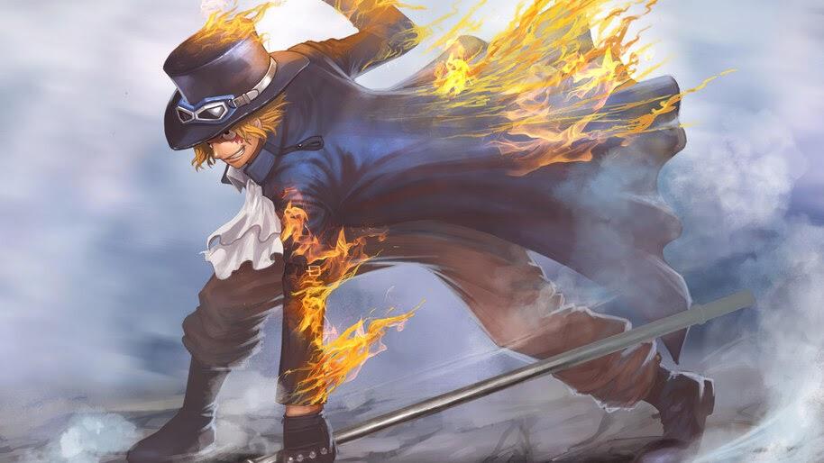 Sabo, Flame, One Piece, 4K, #6.786