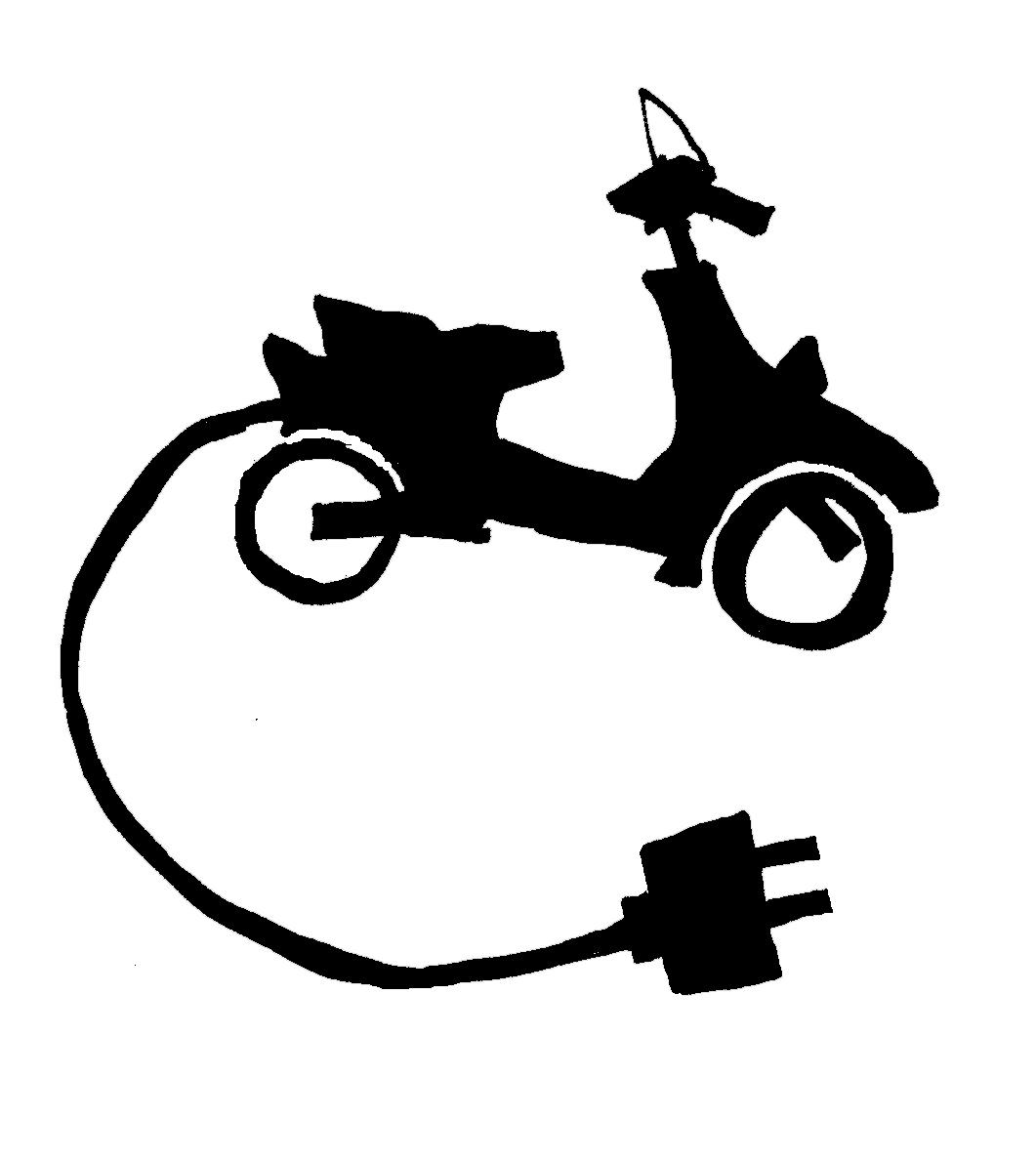 Electric Bike License Plate