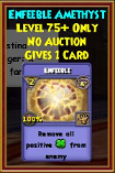 Enfeeble - Wizard101 Card-Giving Jewel Guide