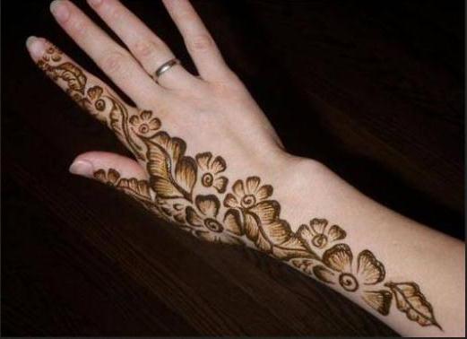 Mehndi Patterns Basic : Some basic ladies mehndi designs plans nazje