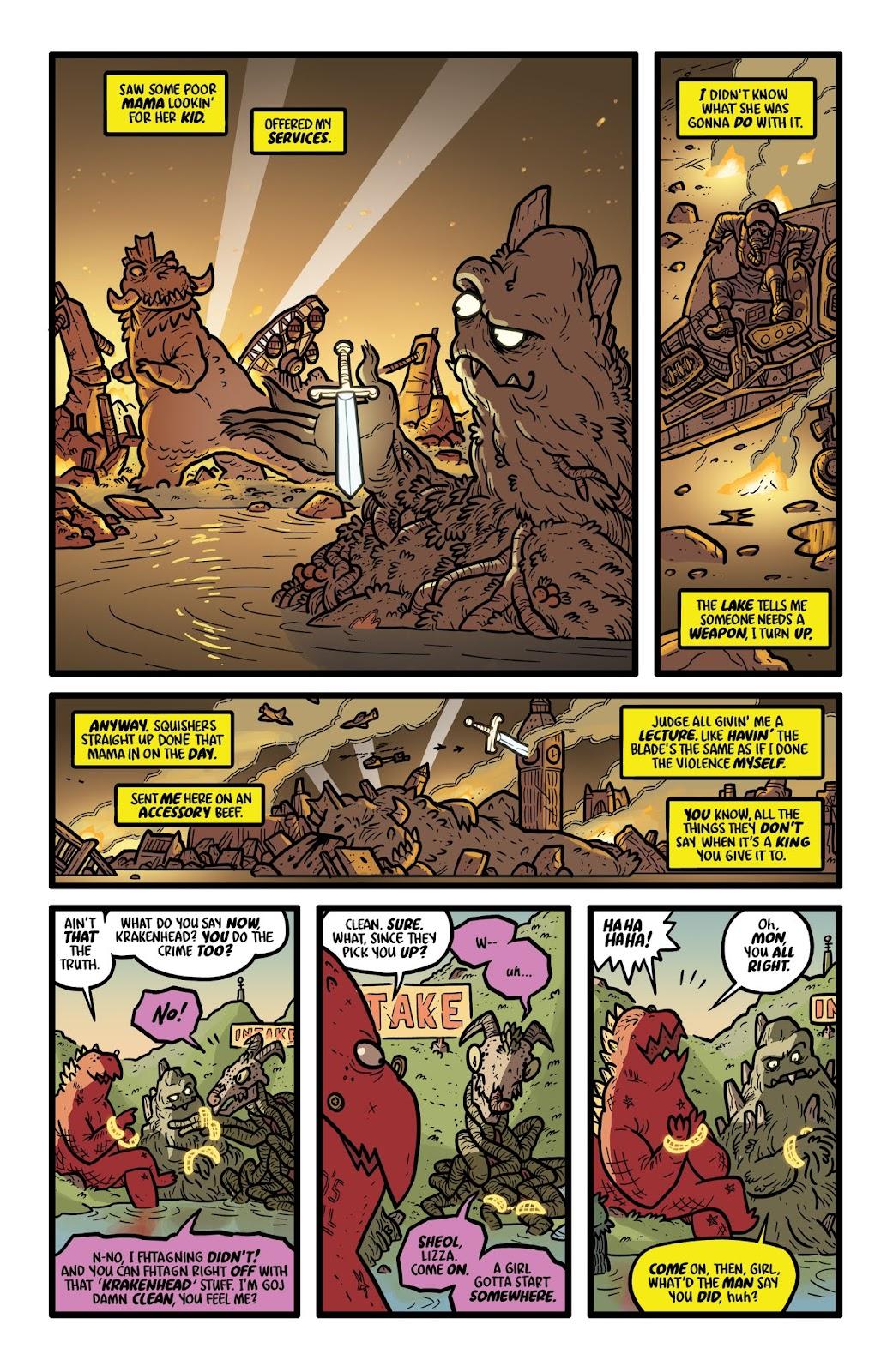 Read online Kaijumax: Season Four comic -  Issue #1 - 4