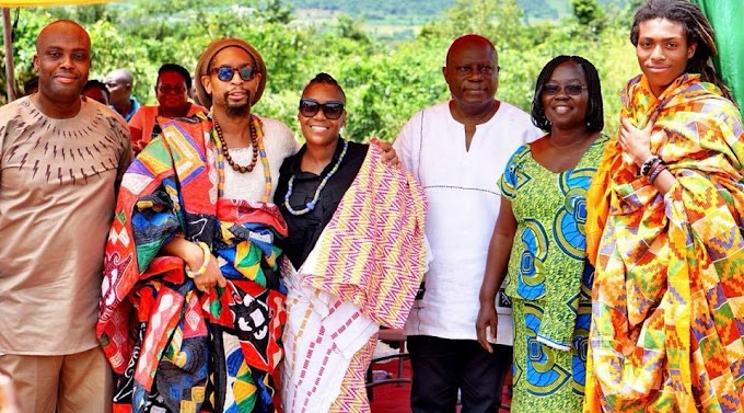 Photo:American Rapper Lil Jon builds classroom for children in Ghana, to honour his mother