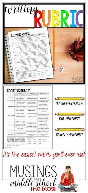 The Easiest Rubric You'll Ever Use!