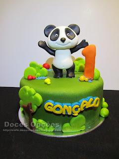 O Panda foi ao primeiro aniversário do Gonçalo