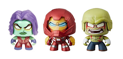 Marvel Mighty Muggs Mini Figure Series 5 by Hasbro – Hulkbuster Iron Man, Gamora & Drax