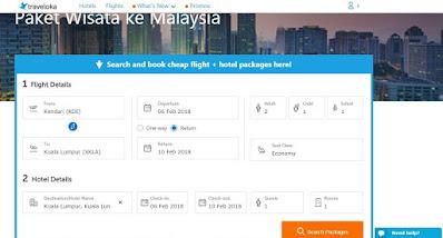 paket wisata flight+hotel