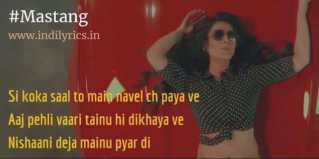 Mastang | Jassi Chhokar ft. Neha Kakkar | Full Punjabi Song Lyrics with English Translation and Real Meaning