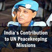 India's Contribution to UN Peacekeeping Missions