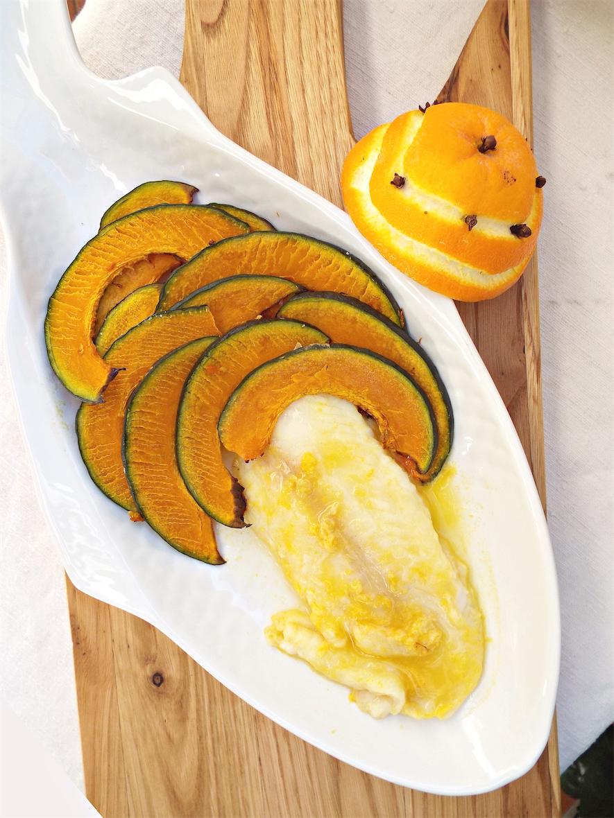 I biscotti della zia: Filetto di pangasio all'arancia con zucca al ...