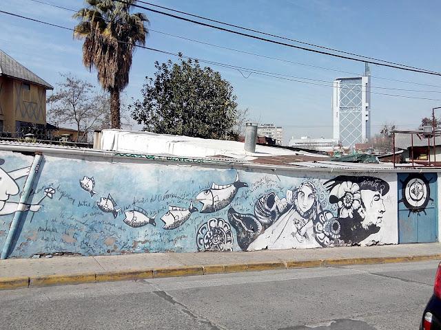 Alrededores de La Chascona Bellavista