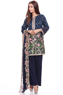 Mausummery Embroidered Classics Winter Collection 2016-2017
