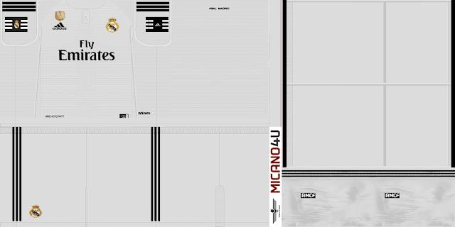 Kit Real Madrid 2019 Pes 2018