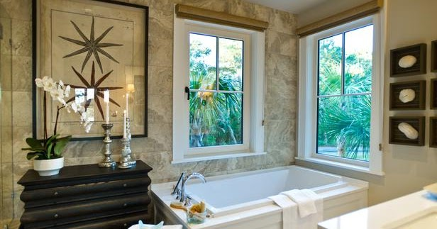 Modern furniture master bathroom pictures hgtv dream - Bathroom designs for home ...