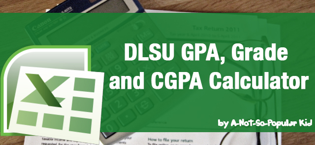 DLSU GPA and Grade Calculator