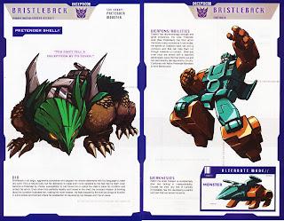 Bristleback Decepticon Transformer