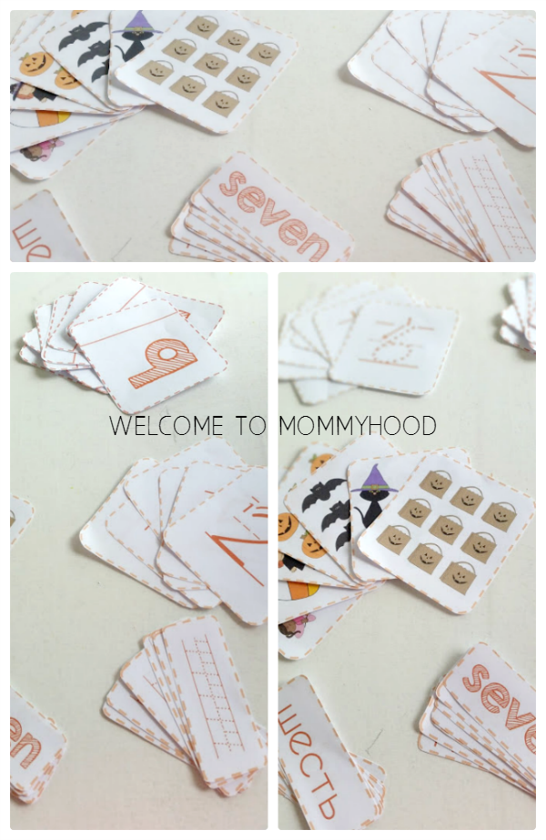 Halloween Math Mini Interactive Notebook by Welcome to Mommyhood #totlabs, #mathactivities, #preschoolactivities, #halloweenactivities