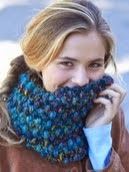http://www.yarnspirations.com/patterns/faux-popcorn-cowl.html