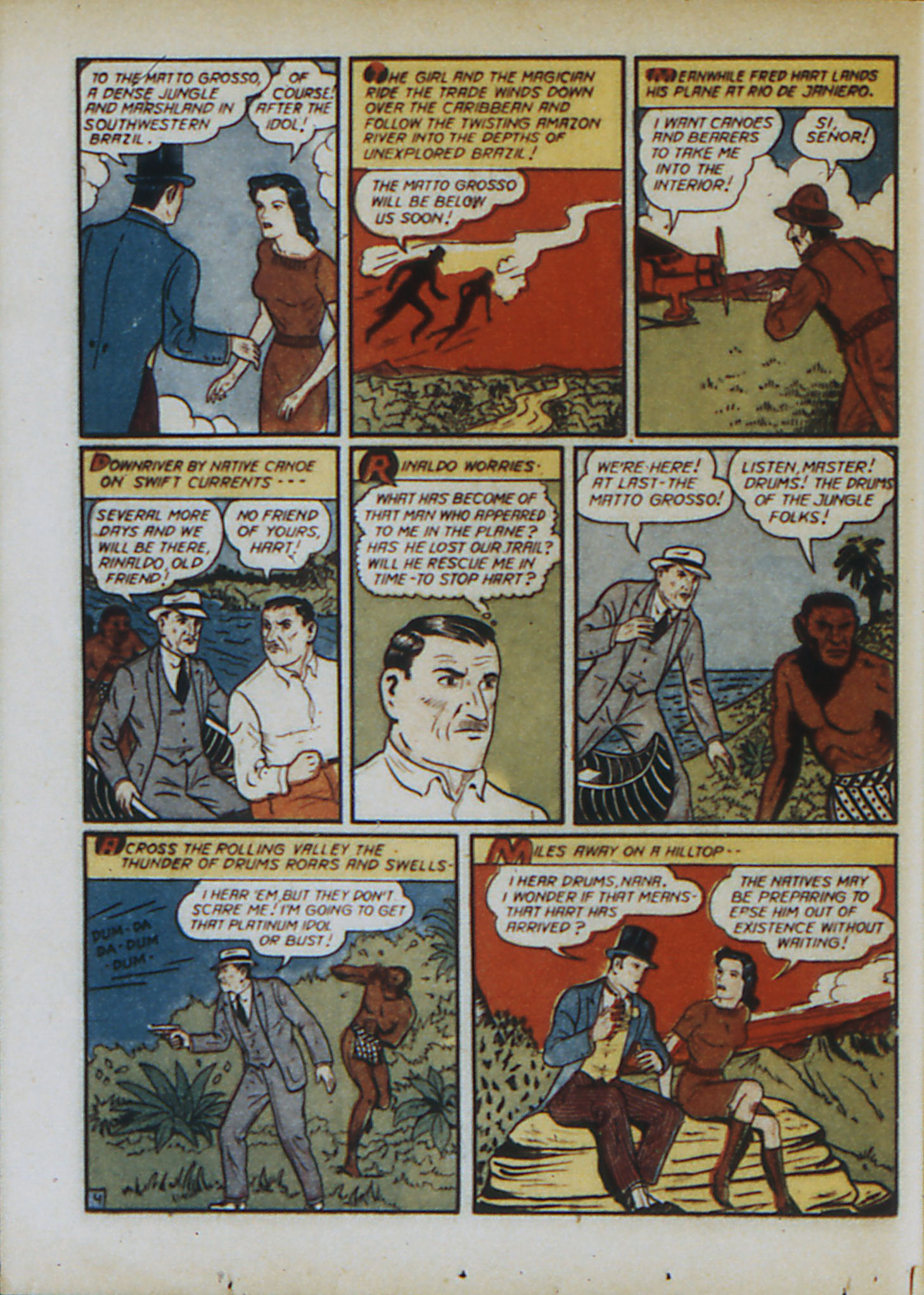 Read online Action Comics (1938) comic -  Issue #33 - 61