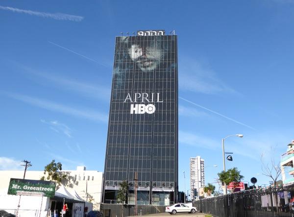 Giant Game of Thrones season 6 teaser billboard