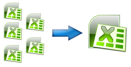 How to combine multiple excel file by macro in Excel 2010?