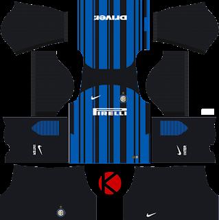 Inter Milan Kits 2017/2018 - Dream League Soccer