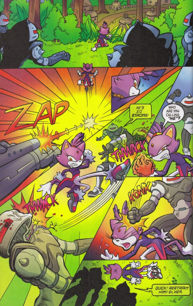Read online Sonic The Hedgehog comic -  Issue #160 - 28