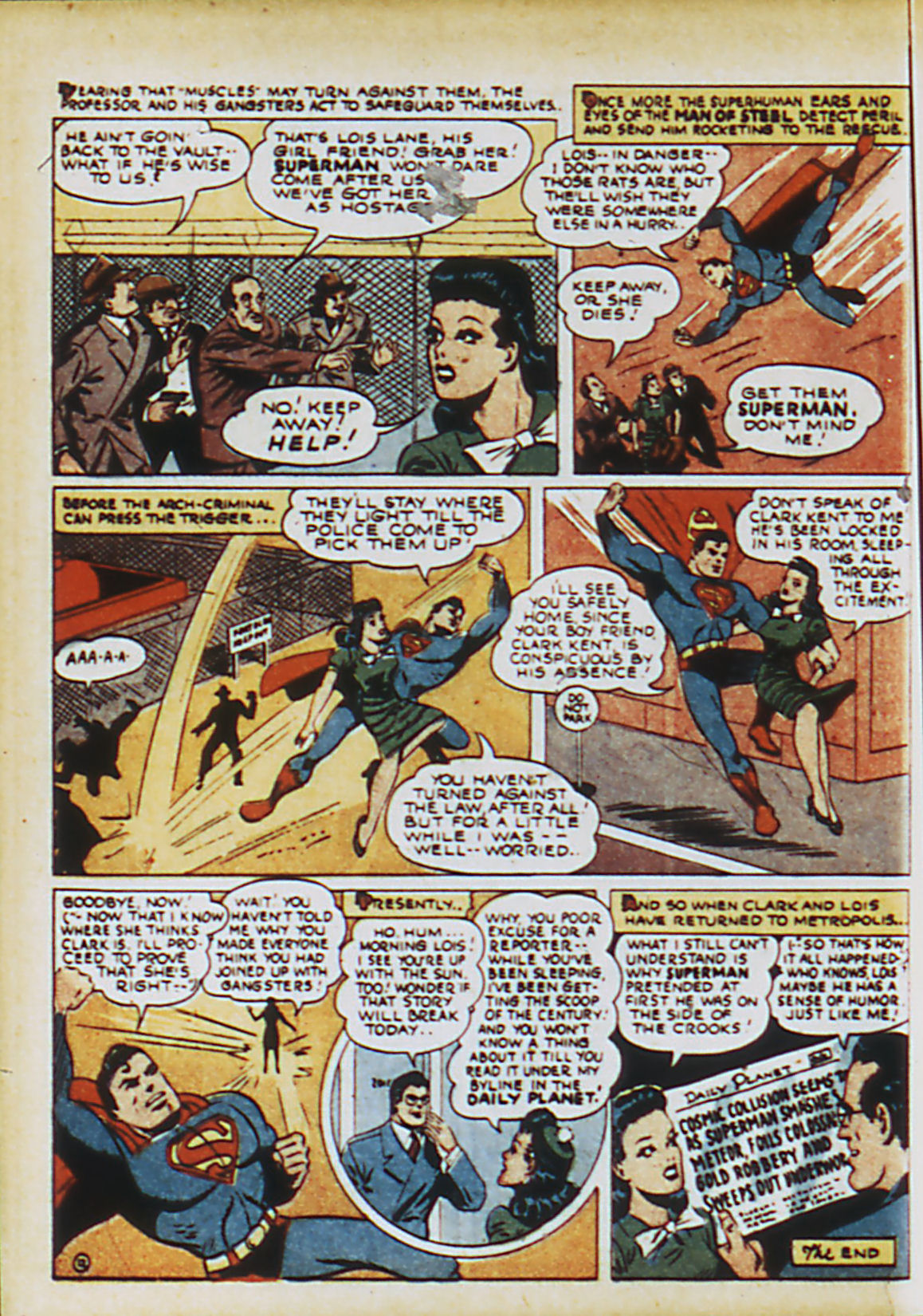 Read online Action Comics (1938) comic -  Issue #63 - 15