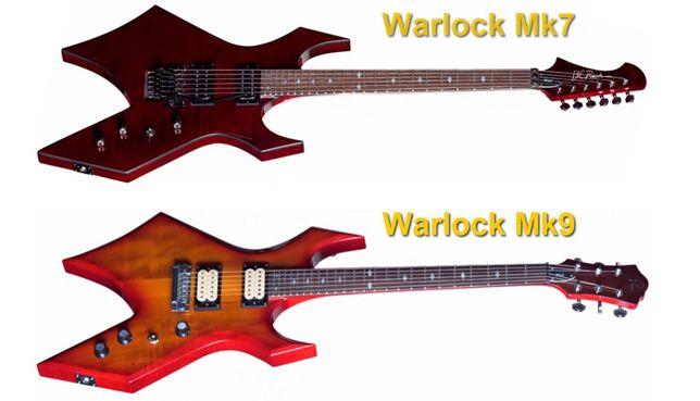 B.C. Rich Warlock MK7 y MK9