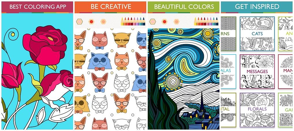 Colorfy, Aplikasi Mewarnai untuk Dewasa