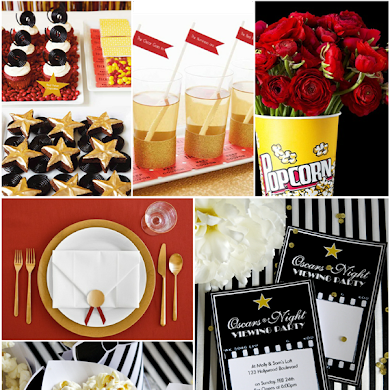 Last Minute Oscars Party Ideas & Inspiration