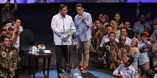 Prabowo: Lebih Baik Saya Yang Hancur Daripada Rakyat Menderita
