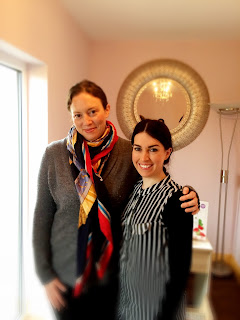 Ciara McEvoy and Beth Wells in their salon in Portlaois, County Laois.
