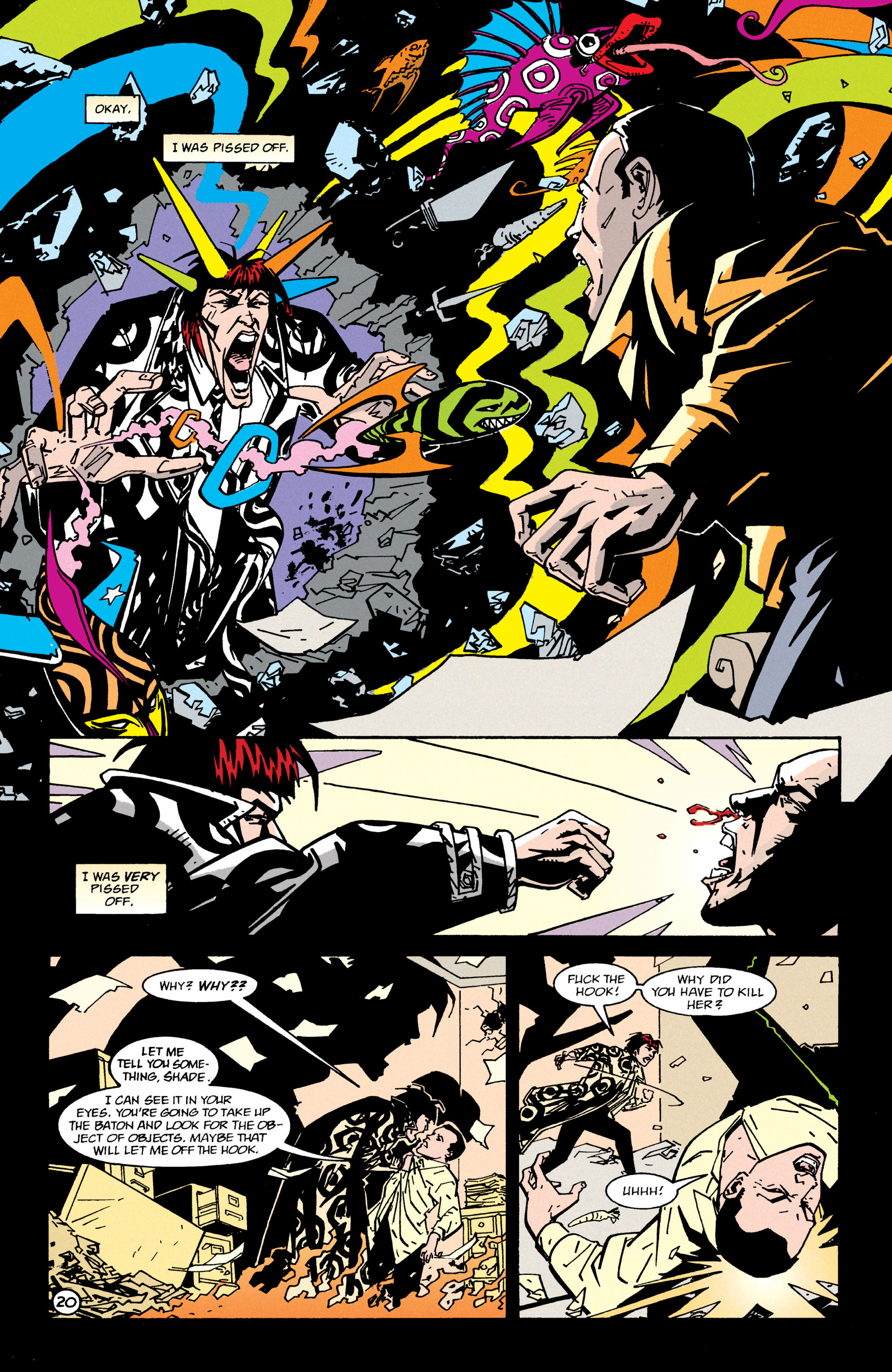 Read online Shade, the Changing Man comic -  Issue #65 - 21
