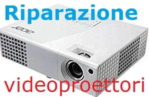 riparazione videoproiettori