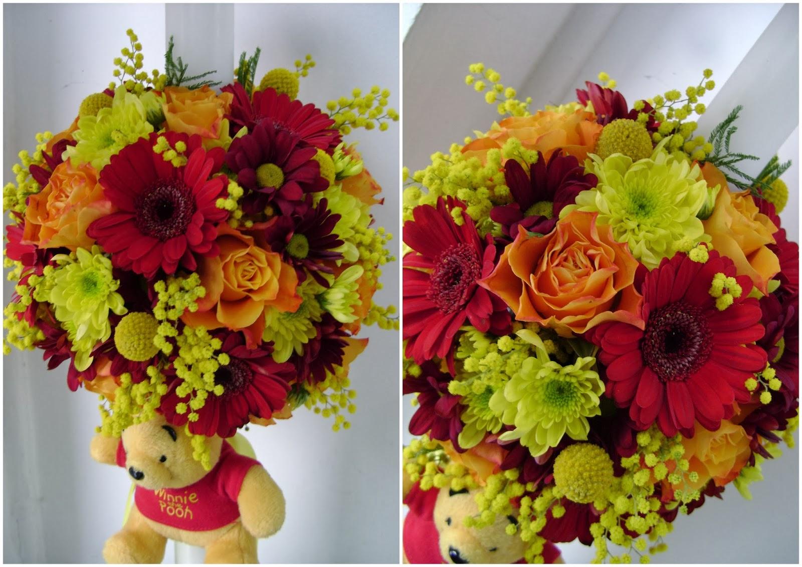 Flower Decor Botez Lumanare Botez Winnie The Pooh