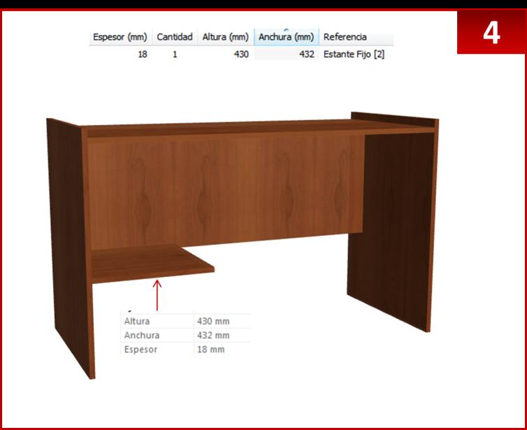 Dise o de muebles madera crear escritorio con repisas for Diseno de muebles para herramientas