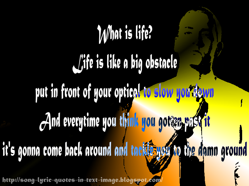 eminem quotes from songs about life - photo #32